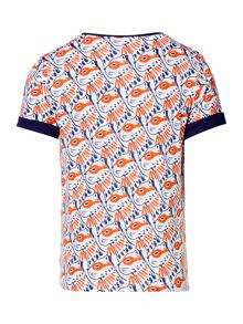 Billybandit Boys Patterned Cotton T-Shirt