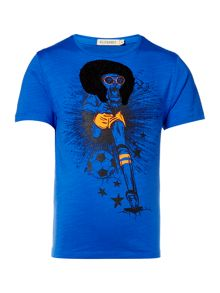 Billybandit Boys Ilustration Cotton T-Shirt