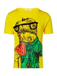 Billybandit Boys Illustration Cotton T-Shirt