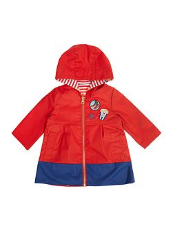 Baby girls raincoat