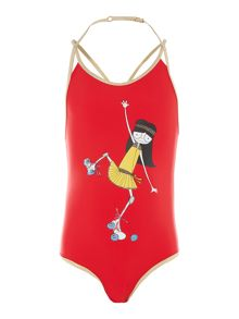 Little Marc Jacobs Girls swimsuit