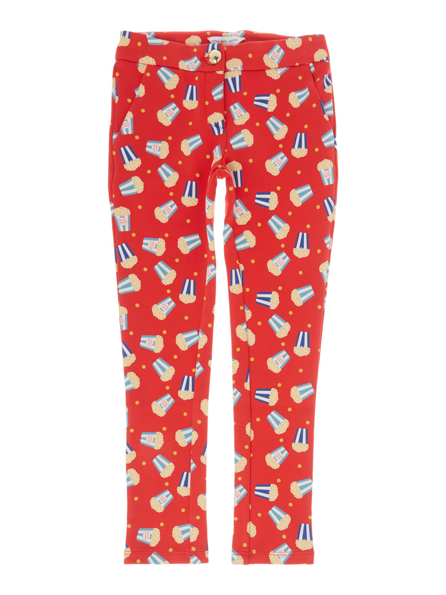 Little Marc Jacobs Little Marc Jacobs Girls slim fit trousers, Pink