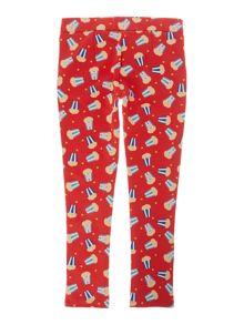 Little Marc Jacobs Girls slim fit trousers