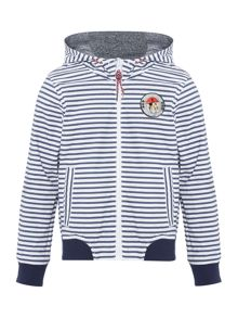 Little Marc Jacobs Boys Reversible Windbreaker