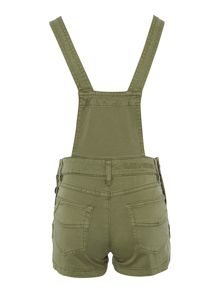 Zadig & Voltaire Girls Cotton Shorts Overalls
