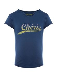 Zadig & Voltaire Girls Cotton Printed T-Shirt