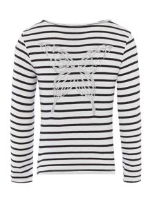 Zadig & Voltaire Girls Cotton Sweatshirt