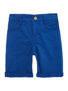 Zadig & Voltaire Boys Cotton Drill Turn Up Shorts