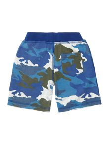Zadig & Voltaire Boys Fleece Camo Print Shorts