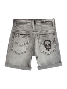 Zadig & Voltaire Boys Denim Turn Up Shorts