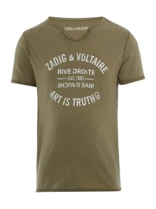 Zadig & Voltaire Boys Cotton T-Shirt