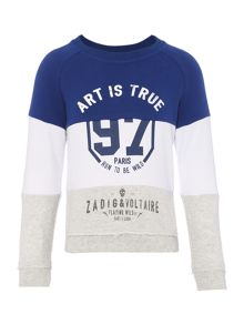 Zadig & Voltaire Boys Long Sleeve Sweater