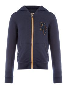Zadig & Voltaire Boys Hooded Cardigan