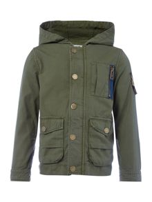 Zadig & Voltaire Boys Water Repellent Hooded Parka