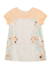 Carrement Beau Girls Twill Dress