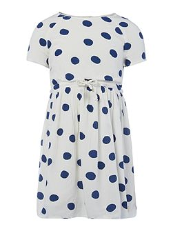 Girls Dot Pattern Dress