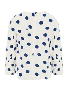 Carrement Beau Girls Long-Sleeve Blouse