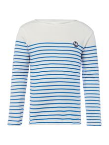 Carrement Beau Boys Striped T-Shirt