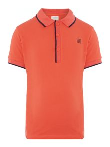Carrement Beau Boys Short-Sleeve Polo Shirt