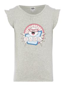 Karl Lagerfeld Girls Jersey T-Shirt