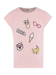 Karl Lagerfeld Girls Fancy T-Shirt