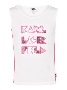 Karl Lagerfeld Girls Tank Top