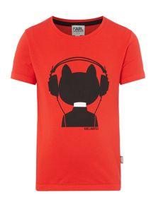 Karl Lagerfeld Boys Cotton T-Shirt