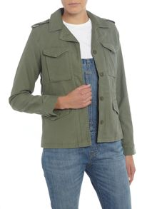 Levi's Surplis Military style jacket in bronze green