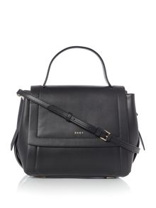 DKNY Greenwich smooth small flap shoulder bag