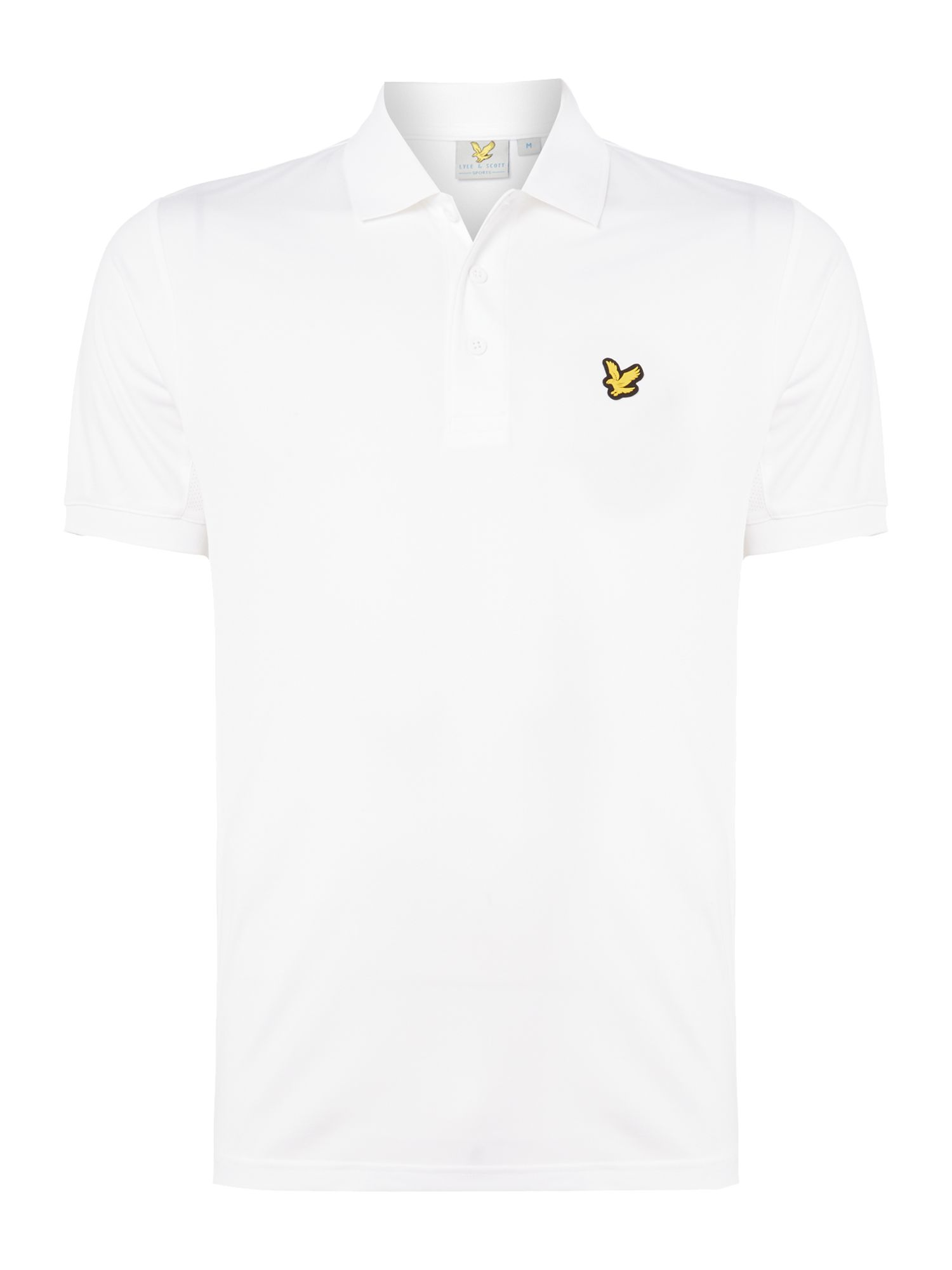 Lyle and Scott Men's Lyle and Scott Sports Pascoe short sleeve polo, White