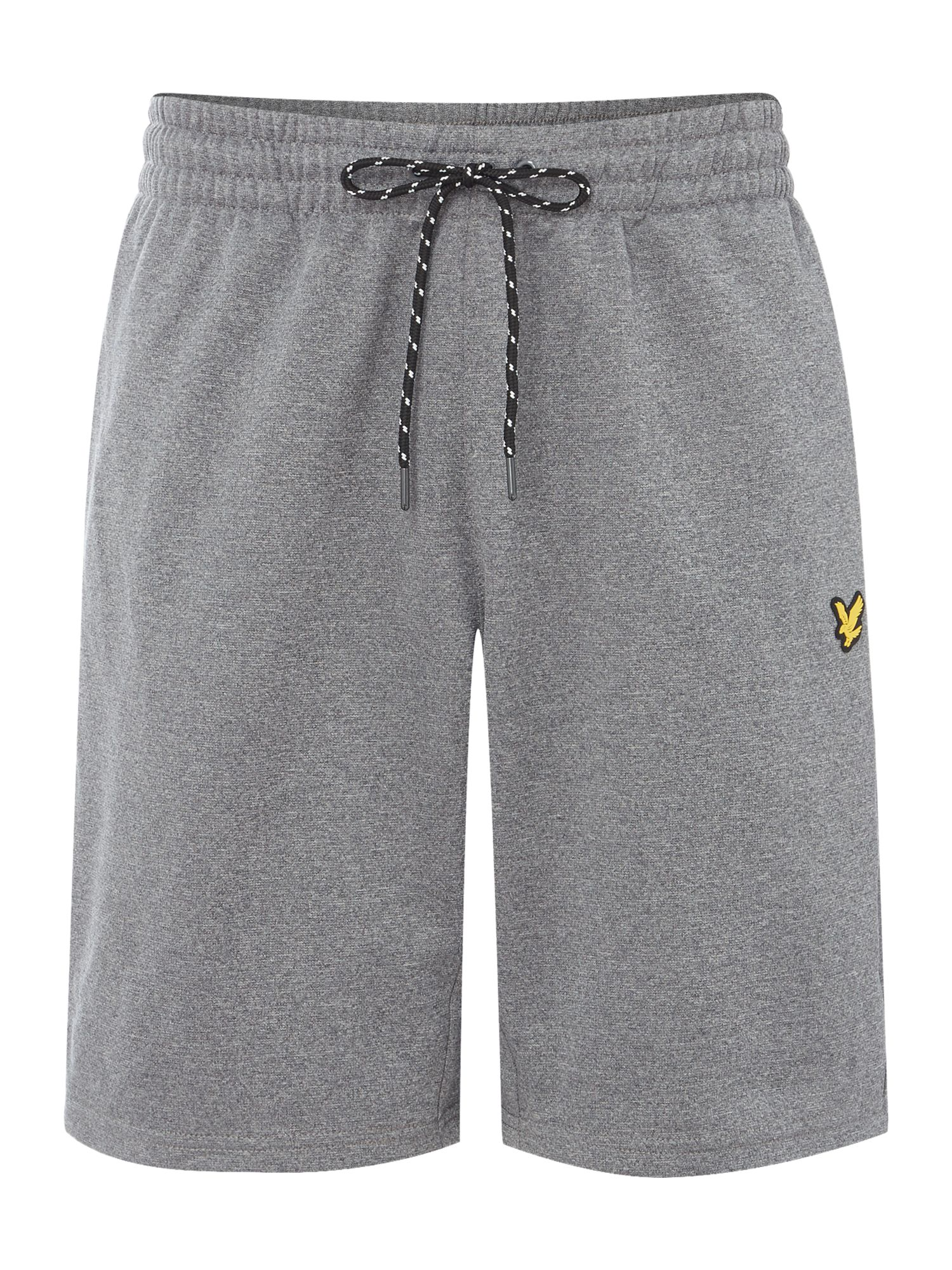 Lyle and Scott Men's Lyle and Scott Charlton sports fleece short, Grey Marl
