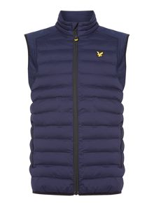 Lyle and Scott Moss padded gilet