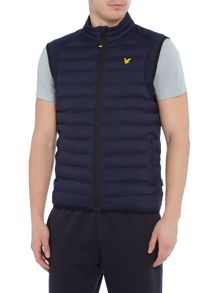 Lyle and Scott Sports Moss padded gilet