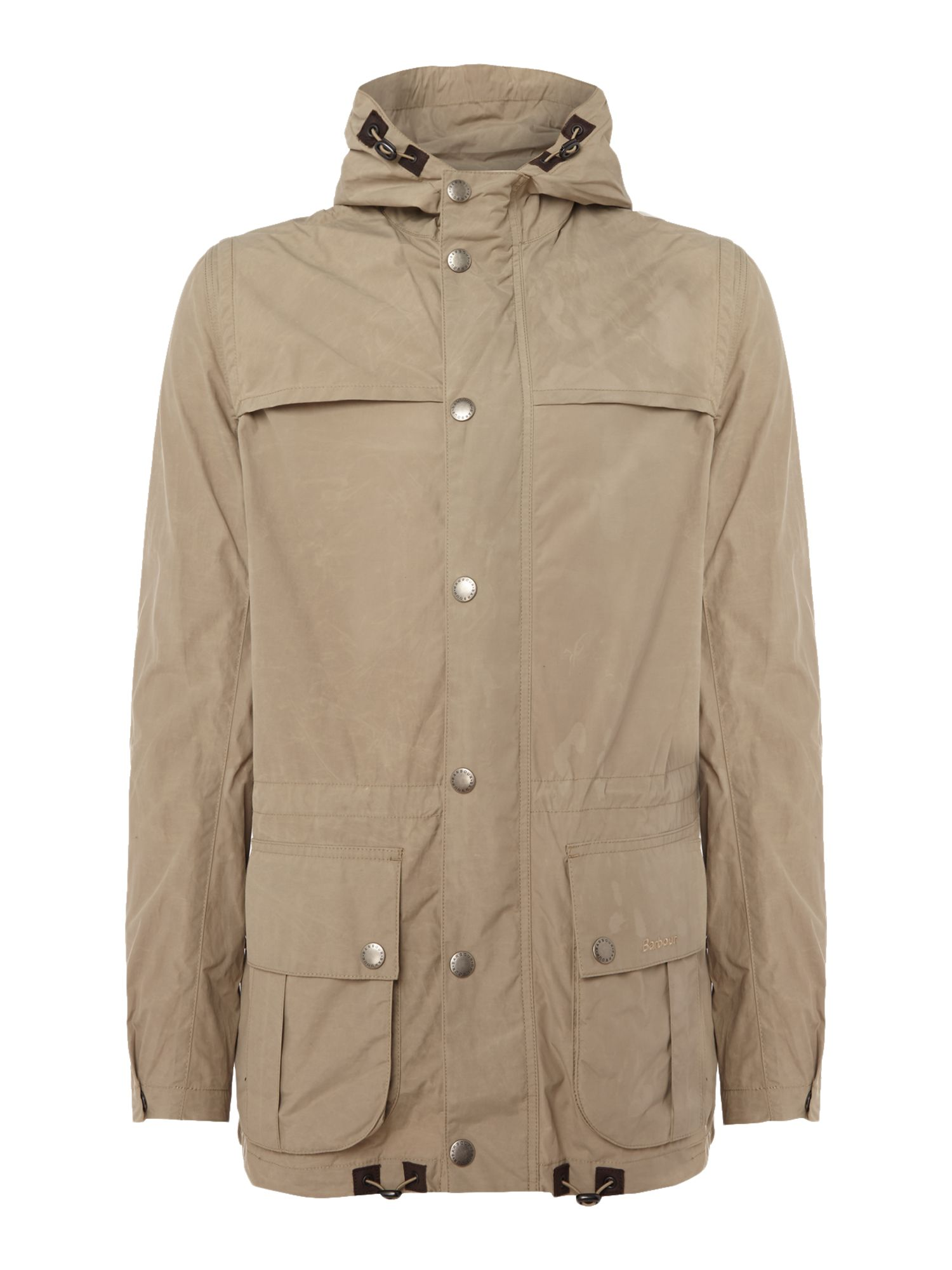 Mens Barbour Staithes Casual Jacket Stone