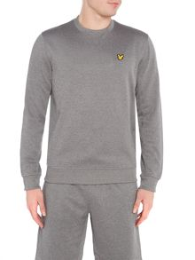 Lyle and Scott Sports Thompson fleece crew neck sweat