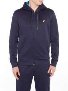 Lyle and Scott Sports Hill fleece track hoodie
