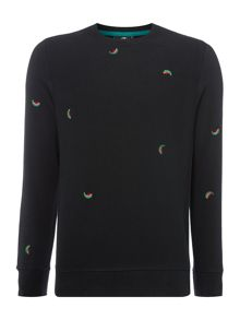 PS By Paul Smith Watermelon Print Sweatshirt
