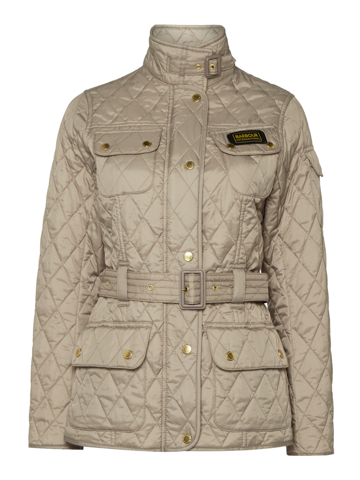 Barbour Barbour International quilt, Taupe
