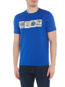 PS By Paul Smith Mascots Print Crew Neck T-Shirt