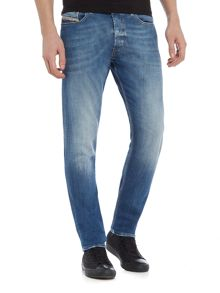 Diesel Tepphar stretch light wash carrot fit jeans