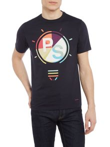 PS By Paul Smith Light Bulb Print Crew Neck T-Shirt