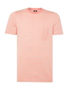 PS By Paul Smith Stripe Crew Neck T-Shirt