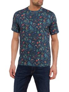 PS By Paul Smith Floral Print Crew Neck T-Shirt