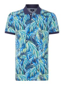 Gant Parrot Print Short-Sleeve Polo-Shirt