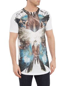 Religion Wings Collage Crew Neck T-Shirt