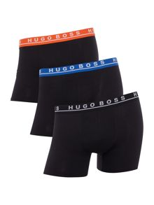 Hugo Boss 3-Pack Contrast Waistband Boxer Brief