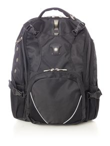 Wenger St gallene black laptop & tablet backpack
