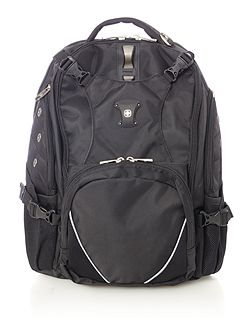 St gallene black laptop & tablet backpack