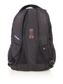 Wenger Black and grey laptop backpack