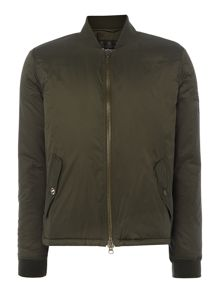 Barbour Oil field quilt bomber jacket